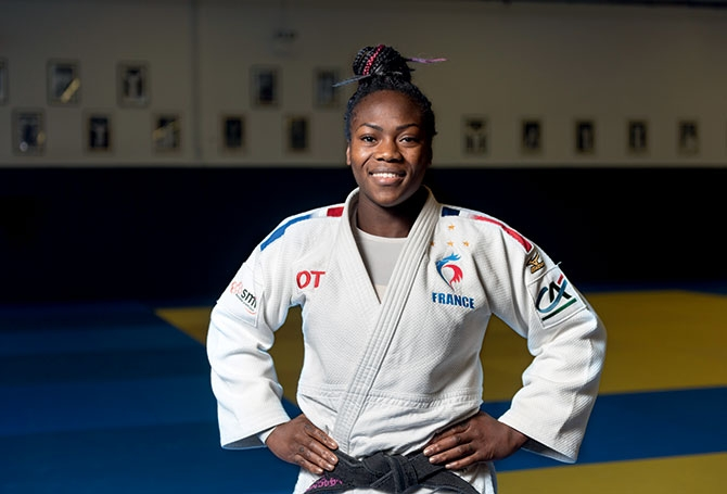For The 5th Time The French Clarisse Agbegnenou Is World Champion La Pause Info Archysport